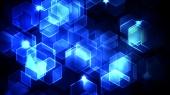 Blue Neon HyperCubes - Memi di connessioni quantistiche